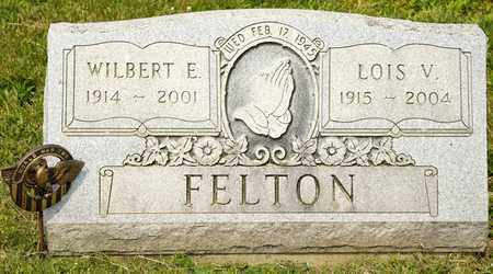 FELTON, WILBERT E - Richland County, Ohio | WILBERT E FELTON - Ohio Gravestone Photos