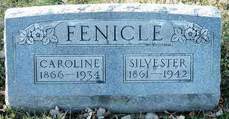 FENICLE, CAROLINE - Richland County, Ohio | CAROLINE FENICLE - Ohio Gravestone Photos