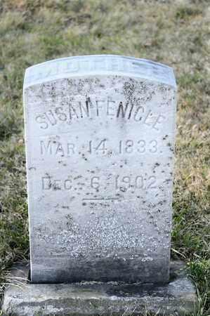 FENICLE, SUSAN - Richland County, Ohio   SUSAN FENICLE - Ohio Gravestone Photos