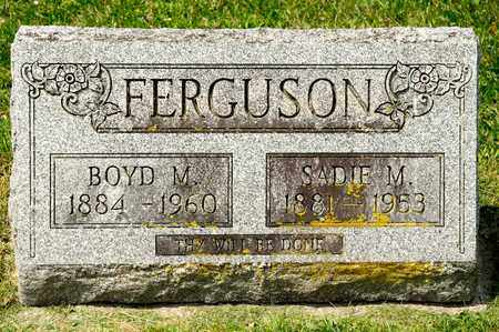FERGUSON, BOYD M - Richland County, Ohio | BOYD M FERGUSON - Ohio Gravestone Photos