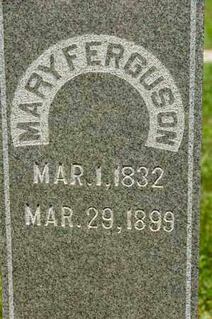 FERGUSON, MARY - Richland County, Ohio | MARY FERGUSON - Ohio Gravestone Photos