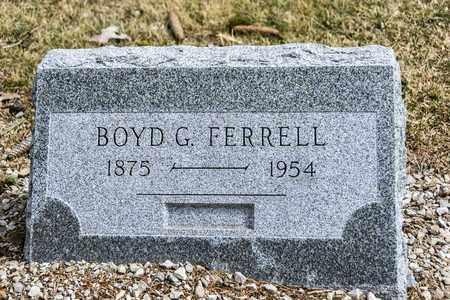 FERRELL, BOYD G - Richland County, Ohio | BOYD G FERRELL - Ohio Gravestone Photos