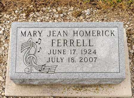FERRELL, MARY JEAN - Richland County, Ohio | MARY JEAN FERRELL - Ohio Gravestone Photos