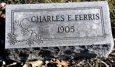 FERRIS, CHARLES E - Richland County, Ohio | CHARLES E FERRIS - Ohio Gravestone Photos