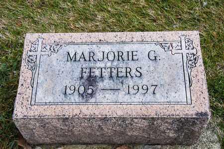 FETTERS, MARJORIE G - Richland County, Ohio | MARJORIE G FETTERS - Ohio Gravestone Photos