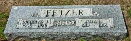 FETZER, NICHOLAS J - Richland County, Ohio | NICHOLAS J FETZER - Ohio Gravestone Photos
