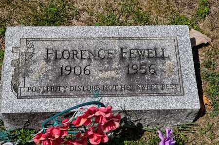 FEWELL, FLORENCE - Richland County, Ohio | FLORENCE FEWELL - Ohio Gravestone Photos