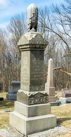 FICKES, MADELEINE - Richland County, Ohio | MADELEINE FICKES - Ohio Gravestone Photos