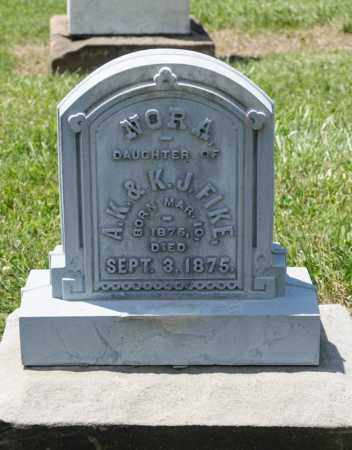 FIKE, NORA - Richland County, Ohio | NORA FIKE - Ohio Gravestone Photos