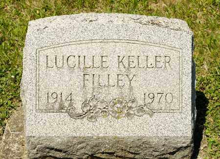 KELLER FILLEY, LUCILLE - Richland County, Ohio | LUCILLE KELLER FILLEY - Ohio Gravestone Photos