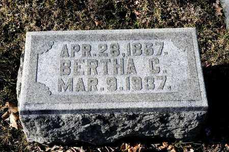 FINICAL, BERTHA C - Richland County, Ohio | BERTHA C FINICAL - Ohio Gravestone Photos