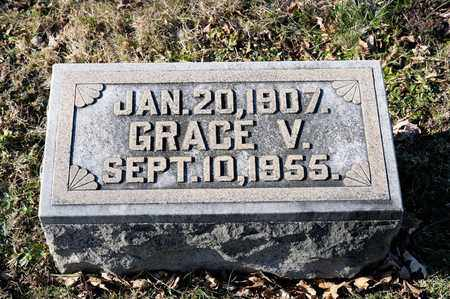 FINICAL, GRACE V - Richland County, Ohio | GRACE V FINICAL - Ohio Gravestone Photos