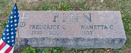 FINN, FREDERICK O - Richland County, Ohio | FREDERICK O FINN - Ohio Gravestone Photos