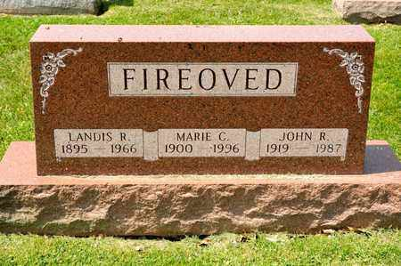 FIREOVED, JOHN R - Richland County, Ohio | JOHN R FIREOVED - Ohio Gravestone Photos
