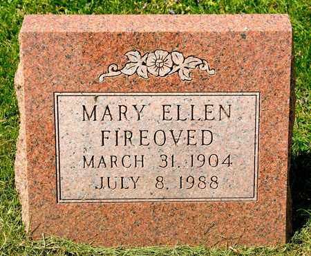 FIREOVED, MARY ELLEN - Richland County, Ohio | MARY ELLEN FIREOVED - Ohio Gravestone Photos