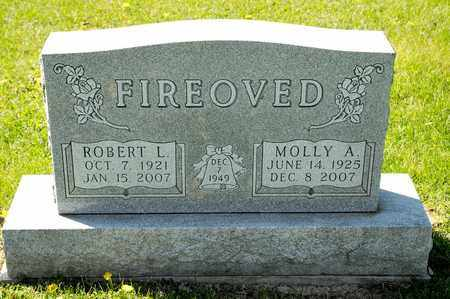 FIREOVED, MOLLY A - Richland County, Ohio | MOLLY A FIREOVED - Ohio Gravestone Photos
