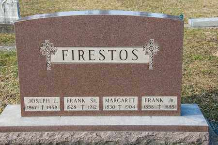 FIRESTOS, JOSEPH E - Richland County, Ohio | JOSEPH E FIRESTOS - Ohio Gravestone Photos