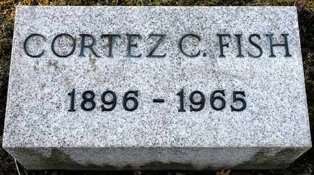 FISH, CORTEZ C - Richland County, Ohio | CORTEZ C FISH - Ohio Gravestone Photos