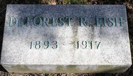 FISH, DEFOREST R - Richland County, Ohio | DEFOREST R FISH - Ohio Gravestone Photos