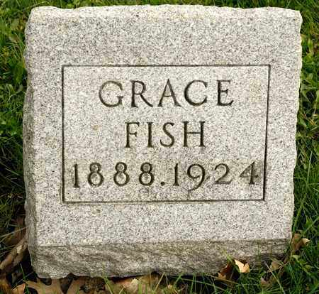 FISH, GRACE - Richland County, Ohio | GRACE FISH - Ohio Gravestone Photos