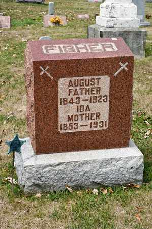 FISHER, AUGUST - Richland County, Ohio | AUGUST FISHER - Ohio Gravestone Photos