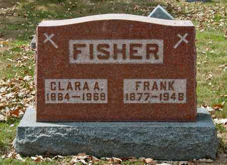 FISHER, CLARA A - Richland County, Ohio | CLARA A FISHER - Ohio Gravestone Photos