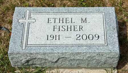 FISHER, ETHEL M - Richland County, Ohio | ETHEL M FISHER - Ohio Gravestone Photos