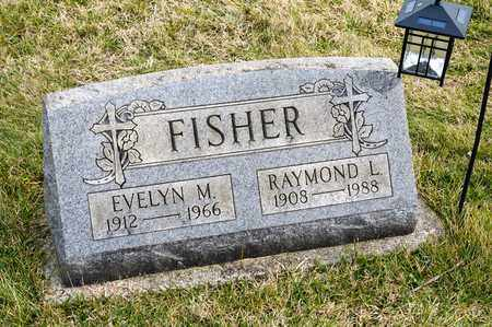 FISHER, RAYMOND L - Richland County, Ohio | RAYMOND L FISHER - Ohio Gravestone Photos
