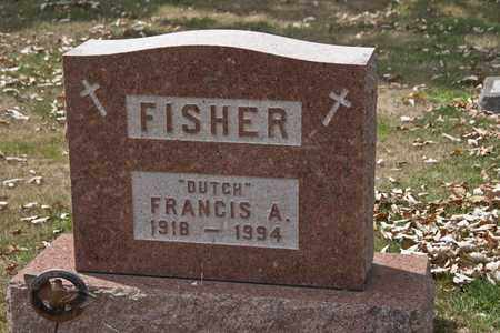 FISHER, FRANCIS A - Richland County, Ohio   FRANCIS A FISHER - Ohio Gravestone Photos
