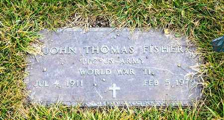 FISHER, JOHN THOMAS - Richland County, Ohio | JOHN THOMAS FISHER - Ohio Gravestone Photos