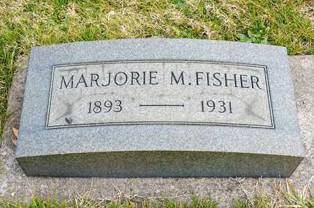 FISHER, MARJORIE M - Richland County, Ohio | MARJORIE M FISHER - Ohio Gravestone Photos