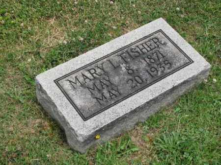 FISHER, MARY L. - Richland County, Ohio | MARY L. FISHER - Ohio Gravestone Photos