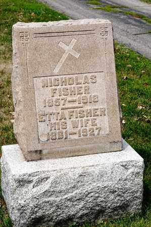 FISHER, NICHOLAS - Richland County, Ohio | NICHOLAS FISHER - Ohio Gravestone Photos