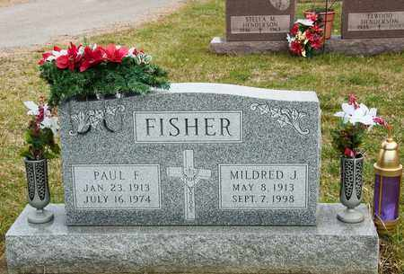 FISHER, PAUL F - Richland County, Ohio | PAUL F FISHER - Ohio Gravestone Photos