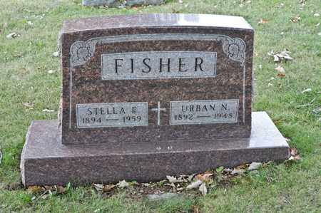 FISHER, URBAN N - Richland County, Ohio | URBAN N FISHER - Ohio Gravestone Photos