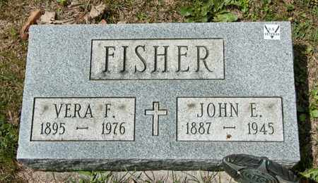 FISHER, VERA F - Richland County, Ohio | VERA F FISHER - Ohio Gravestone Photos