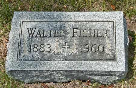 FISHER, WALTER - Richland County, Ohio | WALTER FISHER - Ohio Gravestone Photos