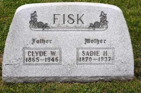 FISK, CLYDE W - Richland County, Ohio | CLYDE W FISK - Ohio Gravestone Photos