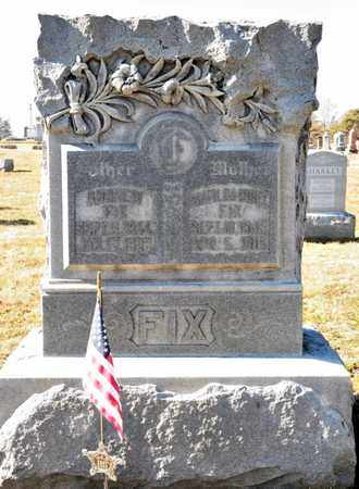 FIX, MARY S - Richland County, Ohio | MARY S FIX - Ohio Gravestone Photos