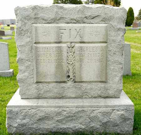 FIX, CHARLES A - Richland County, Ohio | CHARLES A FIX - Ohio Gravestone Photos