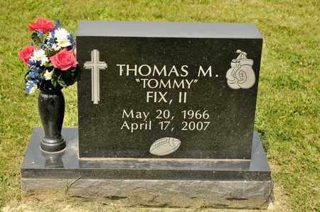 FIX II, THOMAS M - Richland County, Ohio | THOMAS M FIX II - Ohio Gravestone Photos