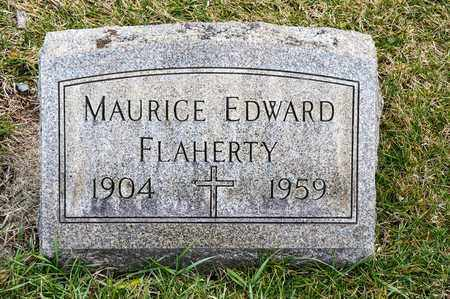 FLAHERTY, MAURICE EDWARD - Richland County, Ohio | MAURICE EDWARD FLAHERTY - Ohio Gravestone Photos