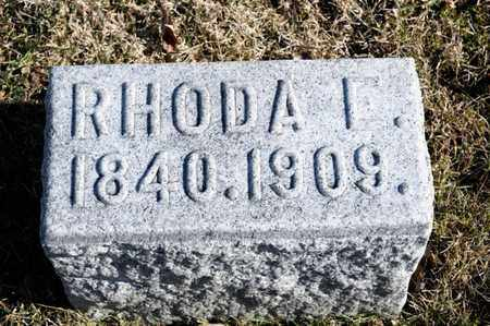FLASHER, RHODA I - Richland County, Ohio | RHODA I FLASHER - Ohio Gravestone Photos