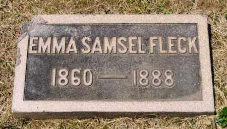 FLECK, EMMA - Richland County, Ohio | EMMA FLECK - Ohio Gravestone Photos