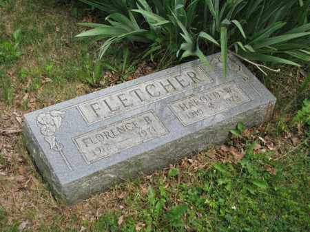 FLETCHER, FLORENCE B. - Richland County, Ohio | FLORENCE B. FLETCHER - Ohio Gravestone Photos