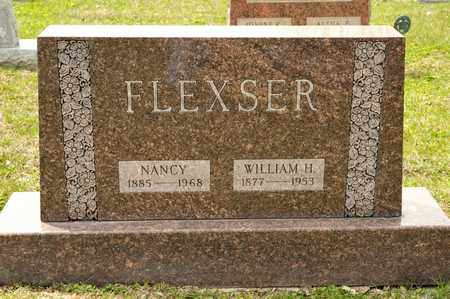 FLEXSER, WILLIAM H - Richland County, Ohio | WILLIAM H FLEXSER - Ohio Gravestone Photos