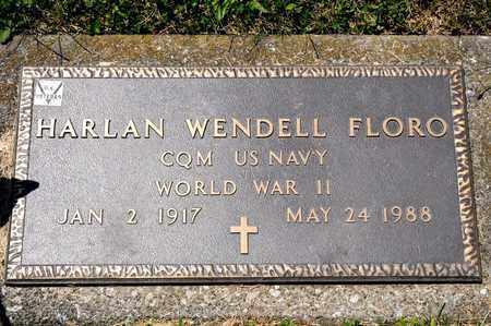 FLORO, HARLAN WENDELL - Richland County, Ohio | HARLAN WENDELL FLORO - Ohio Gravestone Photos