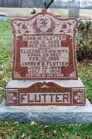 FLUTTER, JOHN M - Richland County, Ohio | JOHN M FLUTTER - Ohio Gravestone Photos
