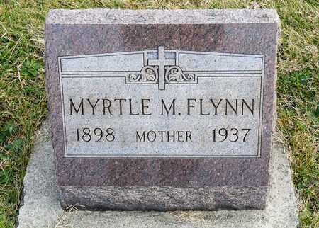 FLYNN, MYRTLE M - Richland County, Ohio | MYRTLE M FLYNN - Ohio Gravestone Photos