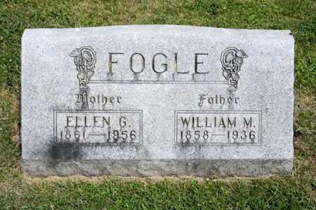 FOGLE, WILLIAM M - Richland County, Ohio | WILLIAM M FOGLE - Ohio Gravestone Photos